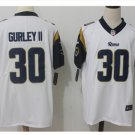 Men's Rams #30 todd gurley color rush Limited jersey white