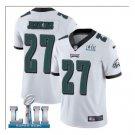 Men's Philadelphia Eagles #27 Malcolm Jenkins super bowl jersey white