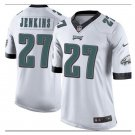 Men's Philadelphia Eagles #27 Malcolm Jenkins game football jersey white