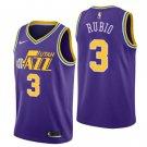 Men's Utah Jazz #3 Ricky Rulio Jersey Purple- FREE SHIPPING