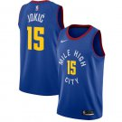 Men's Denver Nuggets #15 Nikola Jokic Jersey Blue New