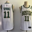 Men's Celtics 11 Kyrie Irving White Stitched Jersey City Edition