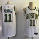 Men's Boston Celtics #11 Kyrie Irving White Stitched Jersey NEW