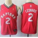 Youth Toronto Raptors #2 Kawhi Leonard Basketball Jersey Red