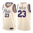 Men's Philadelphia 76ers #23 Jimmy Butler Cream NEW City Edition Jersey