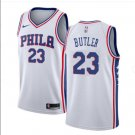 Men's Philadelphia 76ers #23 Jimmy Butler Cream NEW White Jersey