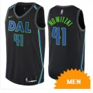 Men's Dallas Mavericks Dirk Nowitzki City Edition Jersey - Black