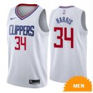 Men's Los Angeles Clippers Tobias Harris Association Edition Jersey - White