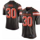 Men's Cleveland Browns Denzel Ward Game Jersey Brown