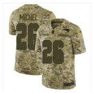Sony Michel New England Patriots Jersey Stiched Camo