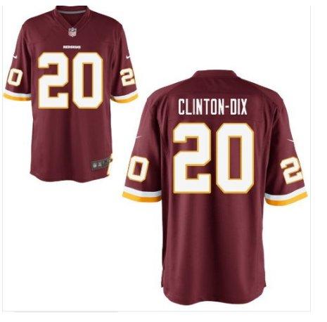 Ha Ha Clinton-Dix Washington Redskins Stiched Burgundy Jersey