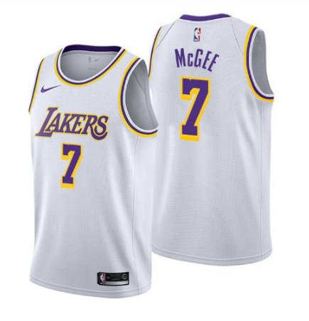 JaVale McGee Los Angeles LA Lakers 2018 2019 Jersey