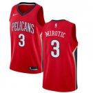 Mens Nikola Mirotic New Orleans Pelicans Darl Blue Swingman Jersey