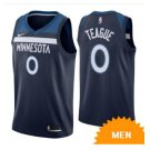Mens Minnesota Timberwolves Jeff Teague Icon Edition Jersey - Navy