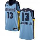 #13 Nike Authentic Jaren Jackson Jr. Men's Light Blue NBA Jersey - Memphis Grizzlies
