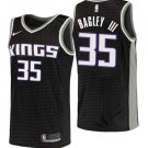 Men's 2018-19 Kings #35 Marvin Bagley III Statement Black Swingman Jersey