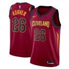 Men's Kyle Korver #26 Cleveland Cavaliers Swingman Jersey Maroon - Icon Edition