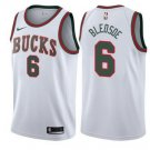 NBA Men Milwaukee Bucks #6 Eric Bledsoe 2017 18 Return to MECCA White Swingman Classic