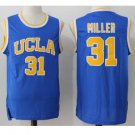 UCLA Bruins #31 The Key Mr. Reggie Miller Blue College Basketball Jersey