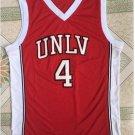 Larry Johnson #4 UNLV Red College Basketball Jersey