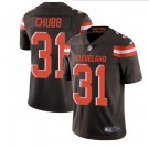 Cleveland Browns #31 Nick Chubb Brown Men's Stitched Limited Jersey