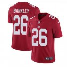 Men's #26 Saquon Barkley color rush limited jersey red.png