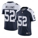 Dallas Cowboys #52 Connor Williams Navy Blue Men's Limited Jersey
