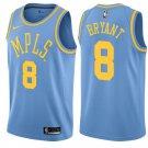 Los Angeles Lakers #8 Kobe Bryant MPLS Blue Basketball Jersey