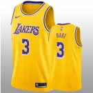 2018-19 Los Angeles Lakers #3 Josh Hart Swingman Gold Men's Jersey - Icon Edition
