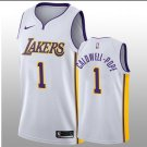 2018-19 Lakers Kentavious Caldwell-Pope White Association Jersey. Team: Los Angeles Lakers