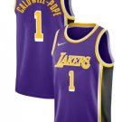 2018-19 Lakers Kentavious Caldwell-Pope Purple Statement Jersey. Team: Los Angeles Lakers