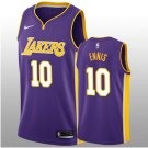 Purple Tyler Ennis Jersey Statement Men's Lakers