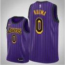 Los Angeles Lakers Kyle Kuzma City Men's Black Purple 2018-19 Jersey. Team