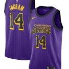 Men's Los Angeles Lakers Brandon Ingram Nike Purple 2018/19 Swingman Jersey – City Edition