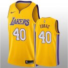 Gold Men's Ivica Zubac Jersey Icon