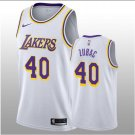 Men 2018-19 Ivica Zubac Los Angeles Lakers #40 Association White Jersey