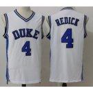 Men's Duke Blue Devils JJ Redick #4 White College Basketball Jersey