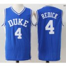 Men's Duke Blue Devils JJ Redick #4 Blue College Basketball Jersey