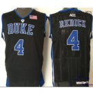 Men's Duke Blue Devils JJ Redick #4 Black College Basketball Jersey