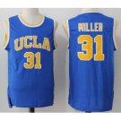 Men's UCLA Bruins #31 The Key Mr. Reggie Miller Blue College Basketball Jersey