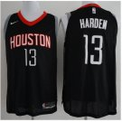 Rockets #13 James Harden Black basketball jersey