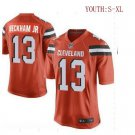 Youth Odell Beckham jr Cleveland Browns game jersey orange