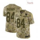 Youth Antonio Brown Oakland Raiders salute to service limited jersey camo