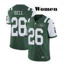 Women's New York Jets #26 Le'Veon Bell Jersey Green Vapor 2019
