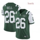 Youth New York Jets #26 Le'Veon Bell Jersey Green Vapor 2019