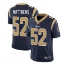 Mens Green Bay Packers #52 Clay Matthews black Stitched Football jersey S-3XL