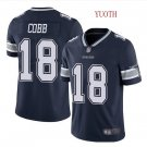 Youth boys Randall Cobb Dallas Cowboys Color rush jersey navy blue