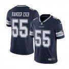 Youth boys Leighton Vander Esch Dallas Cowboys 55 color rush vapor jersey navy blue