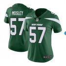 Women #57 CJ Mosley New York Jets color rush jersey green