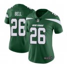 Women Le'Veon Bell New York Jets #26 Color rush jersey green
